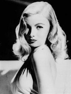 Veronica Lake | Makeup inspiration for black and white photography