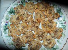 Sausage Wonton Appetizers Recipe