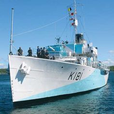 Paying tribute to HMCS Sackville, Canada's oldest warship and the last of its Second World War corvettes. Coast Guard Auxiliary, Royal Canadian Navy, Tudor Black Bay, Merchant Navy, Below Deck, Navy Ships, Submarines, Battleship, Armed Forces