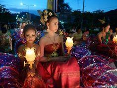 Loi Krathong, Hua Hin, Thailand