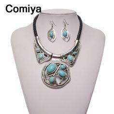 Comiya assassin creed maxi collar fashion silver color zinc alloy imitation stones women pendant necklaces wholesale cc necklace