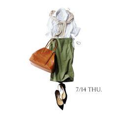明日は外回り(暑)からの社内会議(寒)。寒暖差を乗り切るには?Marisol ONLINE|女っぷり上々!40代をもっとキレイに。