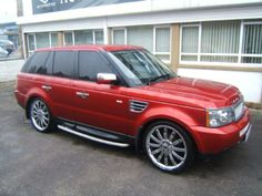 now this is some car porn ♥ Range Rover Sport.