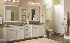Make the bathroom at your house looks so modern than before by using white modern bathroom vanity. As you know that a modern bathroom always has a vanity Bathroom Basin Cabinet, Bathroom Cabinets Over Toilet, Master Bathroom Vanity, Bathroom Vanity Designs, Bathroom Vanity Makeover, Best Bathroom Vanities, Double Sink Bathroom, Bathroom Countertops, Granite Countertop