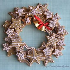 Star Wreath   Cookie Connection