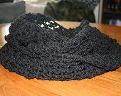 Crochet infinity scarf now for sale!  https://www.etsy.com/shop/SimplyHookedCrochet