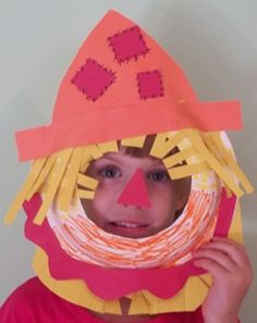 scarecrow centerpiece idea, How To Make A Simple paper scarecrow Hat