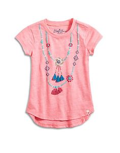 SHELL NECKLACE TEE