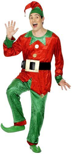 Déguisement Lutin homme Noël : Deguise-toi, achat de Deguisements adultes