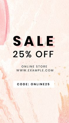Pink Mobile, Abstract Template, Pink Sale, First Perfume, Best Templates, Mobile Wallpaper, Iphone Wallpaper, Instagram Story Template, Sale Poster