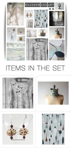 """""""Shadows and Art"""" by twosaddonkeys ❤ liked on Polyvore featuring art and etsy"""