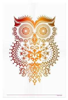 'Owl' by Narani Kannan would be a awesome tattoo! Whimsical Owl, Owl Illustration, Owl Always Love You, Owl Bird, Cute Tattoos, Tatoos, Owl Tattoos, Cute Owl, Back Tattoo