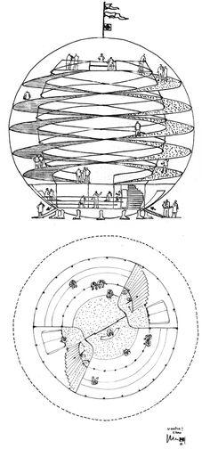 Casa Bola By Eduardo Longo-utopian architecture | Designalmic