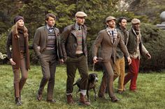 Not every piece in this picture is to my liking, but the over all feel is probably what my ultimate style would be like. Very English, warm, conveys a gentleman, and flexiblewhen it comes to personal style.