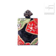 3C Studio Asian Embroidery Pendant - Red and Black
