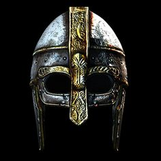 historically viking helmet 3d model - Viking Helmet... by ivanpxxx