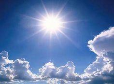 Met zonlicht en de blauwe lucht krijg je een heel licht gevoel