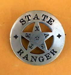 The search for a r e a l Texas Ranger badge is the collecting version of the Agony and the Ecstasy. and mostly agony . Texas Rangers Law Enforcement, Law Enforcement Badges, Sheriff, Tx Rangers, Old West Outlaws, Cowboys And Indians, Real Cowboys, Mein Hobby, Lone Star State