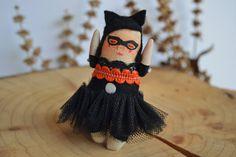 Matilda / Muñeca Handmade / mini por Mandarinasdetela en Etsy