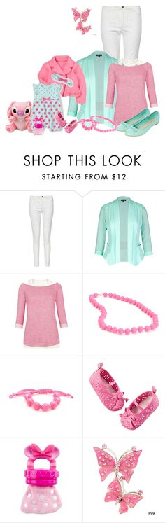 """""""mommy and me"""" by kurlyglamour ❤ liked on Polyvore featuring French Connection, City Chic, INC International Concepts, Chewbeads, Carter's, Disney, women's clothing, women's fashion, women and female"""