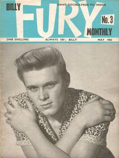 Billy Fury Monthly - No.3