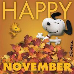 Snoopy Happy November