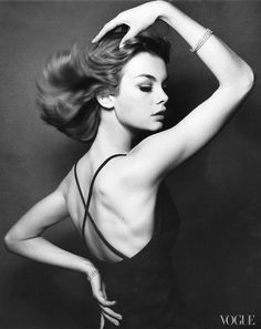 Jean Shrimpton, as shot by David bailey