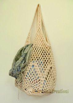 Pineapple Crochet Market Bag By Amber - Free Crochet Pattern…