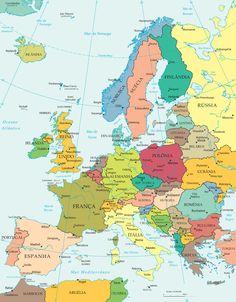 Mapa Politico                                                                                                                                                                                 Mais