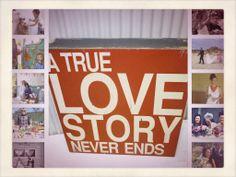 A True Love Story Never Ends-Pink www.capeoflove.com