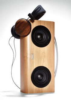wireless wooden speaker