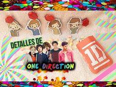 Detalles de One Direction (Manualidades)// #KingDirectionerBoy // Jes Arath