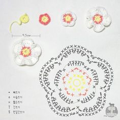 HOW TO MAKE~- flower coster