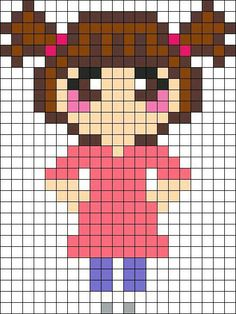 MINECRAFT PIXEL ART – One of the most convenient methods to obtain your imaginative juices flowing in Minecraft is pixel art. Pixel art makes use of various blocks in Minecraft to develop pic… Kandi Patterns, Pearler Bead Patterns, Perler Patterns, Beading Patterns, Perler Beads, Hama Beads Disney, Perler Bead Art, Perler Bead Designs, Perler Bead Templates