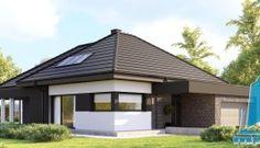 Casa cu parter si garaj pentru doua automobile– 205 m2 – 100995 Plan General, Gazebo, Outdoor Structures, Outdoor Decor, Design, Home Decor, Cabin, Kiosk, Decoration Home