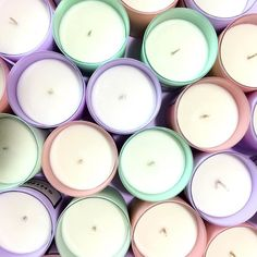 Start making your wishes come true!!! // Nuestras velas con aroma son vaciadas a mano y contienen soya!! Encuentra 4 deseos en 3 colores diferentes! Visita www.toystyle.co LINK en BIO #toystyle #home #fragrance #soycandle #healthy #light #pastels #soft #kiwi #pink #lilac