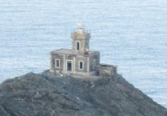 Lighthouse Livada Tinos Island