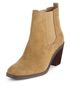 Suede Heeled Chelsea Ankle Boots with Insolia® | M&S