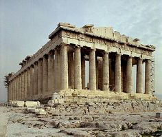 Visiting the Parthenon in Athens is on my Bucket List.