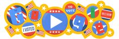 Google Doodle Today: #ElectionDay 2016