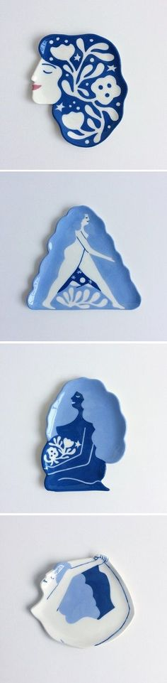 beautiful Ceramic dishes by Lisa Junius