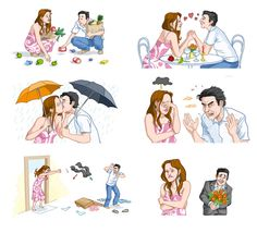 love and relationships Sequencing Pictures, Sequencing Cards, Story Sequencing, Spanish Vocabulary, Teaching Spanish, Study Spanish, English Exercises, English Activities, Preschool Education