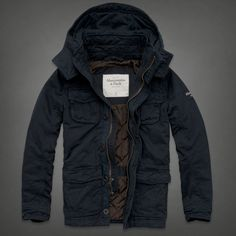 Mens Adams Mountain Jacket   Mens Outerwear   Abercrombie.com