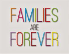 mckenna woolley: Families are Forever | Primary Theme 2014