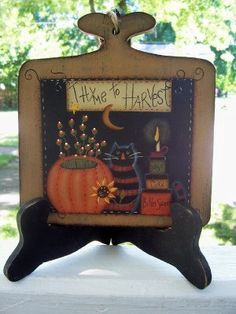 Folk Art, Primitive, Tole Painting on Pinterest