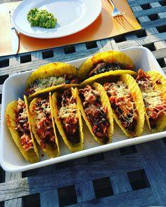 Taco's met kip!