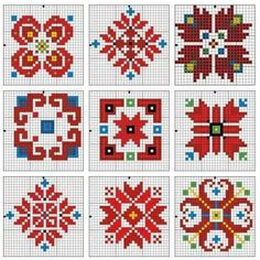 В.Атанасова-@mamani 55 Cross Stitch Heart, Cross Stitch Cards, Cross Stitch Borders, Cross Stitch Designs, Cross Stitching, Cross Stitch Patterns, Creative Embroidery, Folk Embroidery, Learn Embroidery