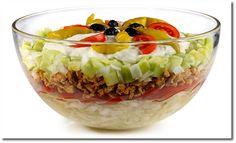 Gyros Schicht Salat
