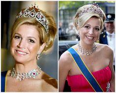 The Royal Order of Sartorial Splendor: Tiara Thursday: The Ruby Peacock Tiara