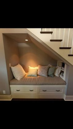 40 Stunning Design Ideas to Build Room Under Stairs - Page 24 of 41